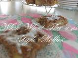 Whole Wheat Flax'n Apple Muffins