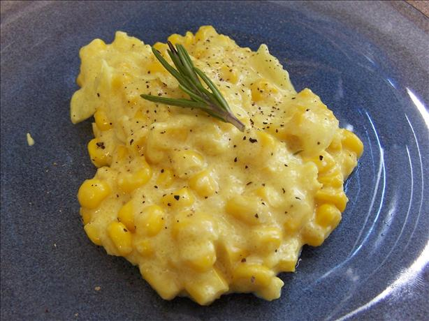 Alton Brown's Creamed Corn. Photo by Chemaine