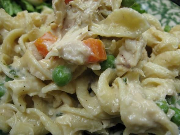 Quick and Easy Stove-Top Tuna Noodle Casserole. Photo by MsSally