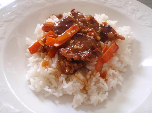Crispy Ginger Beef. Photo by aquamarin