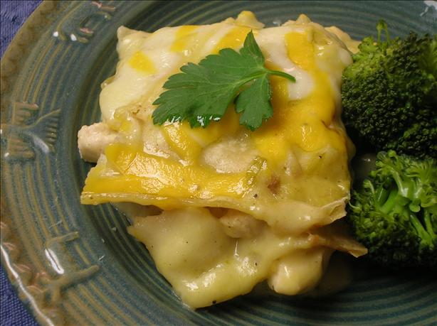 New Mexico Style Chili Chicken Casserole. Photo by Pam-I-Am