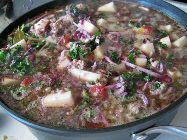 Portuguese Kale Soup. Photo by Haversac
