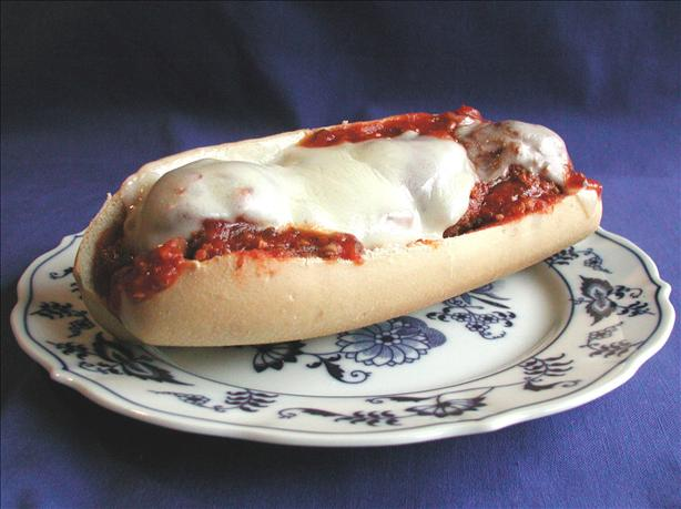 Italian Meatball Subs. Photo by Mimi in Maine