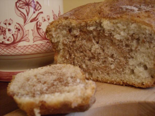 Marbled Cinnamon Sugar Quick Bread. Photo by mums the word
