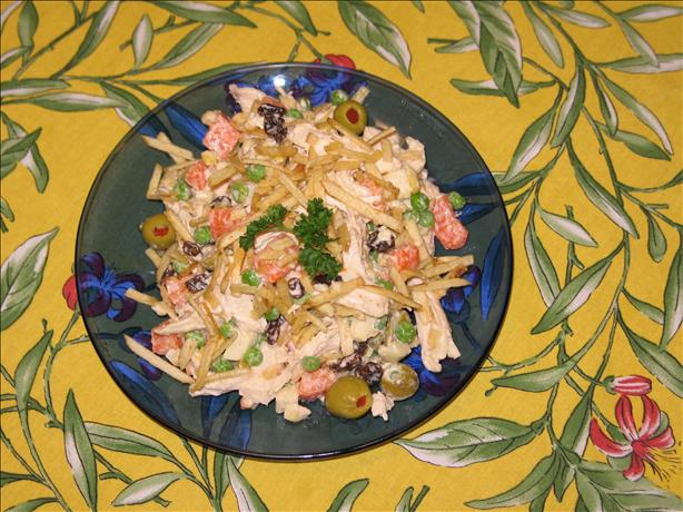 Brazilian Chicken Salad Aka Salpicao Especial De Galinha. Photo by justcallmejulie
