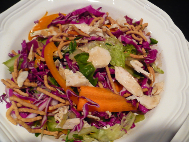 Dulcet's Chinese Chicken Salad. Photo by Chef RZ Fan