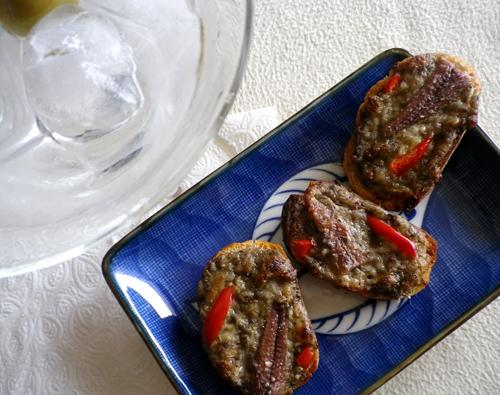 Anchovy Crostini. Photo by Bergy