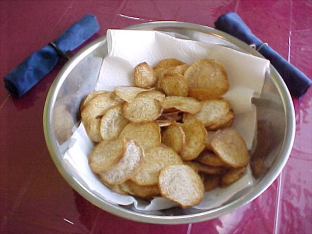 Taro Chips (like Potato Chips). Photo by Dug