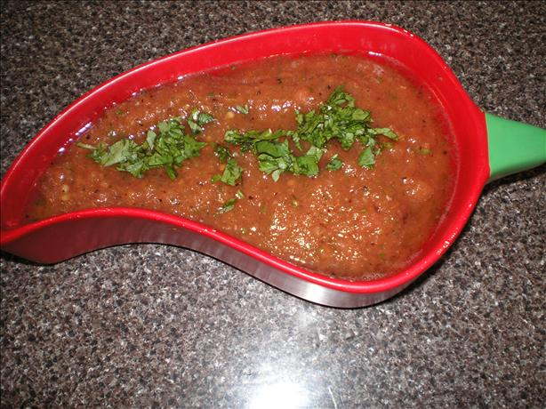 Copycat Baja Fresh Salsa. Photo by *MessyPessy*