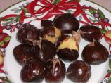 Roasted Chestnuts Oven or Stove Top