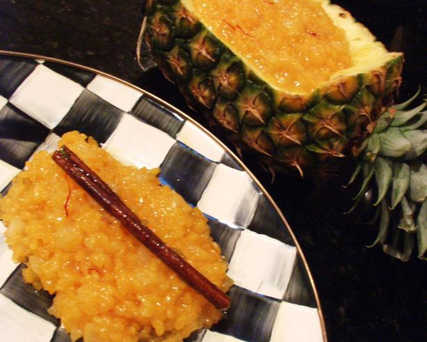 Sweet Pineapple Yellow Rice. Photo by FLKeysJen