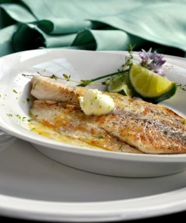 Pan-Seared Tilapia With Chile Lime Butter. Photo by Andi of Longmeadow Farm