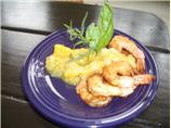 Sauteed Shrimp With Mango Salsa