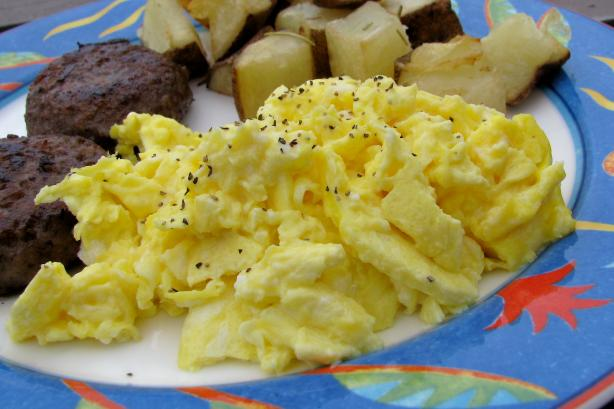 Scrambled Eggs. Photo by lazyme