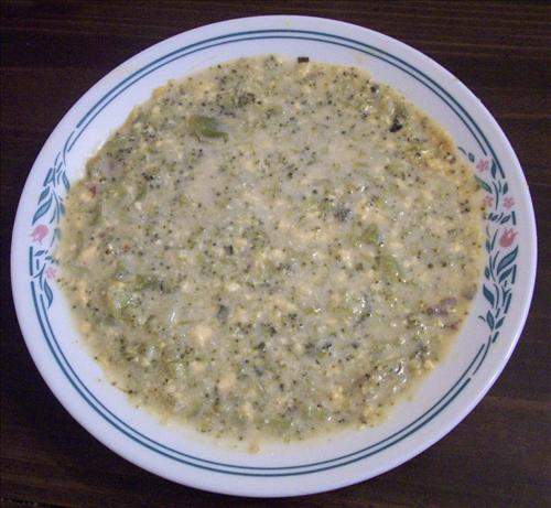 Easy Broccoli Cheese Soup. Photo by GrandmaIsCooking