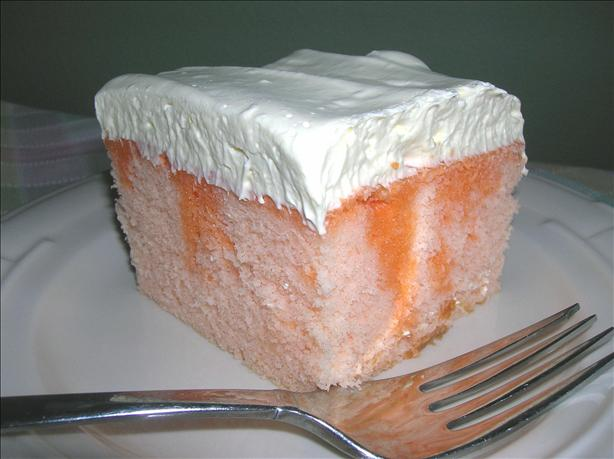 Best Orange Dreamsicle  Cake. Photo by Pam-I-Am
