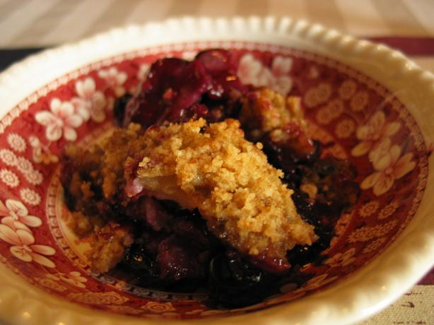 Blueberry Cobbler. Photo by carolinajewel