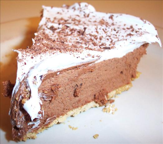 Kelly&#39;s French Silk Chocolate Pie. Photo by kzbhansen