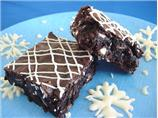 Snow Flurry Brownies