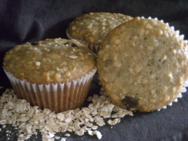 Oatmeal Banana Muffins. Photo by mums the word