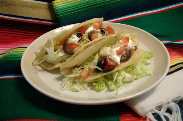 Mom Florence's Tacos. Photo by Deb's Recipes
