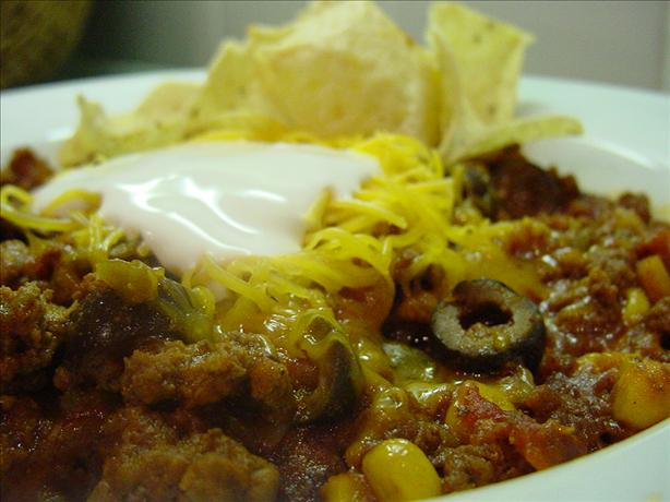 Taco Soup (Paula Deen). Photo by Sharlene~W