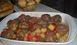 Easy Basic Meatballs. Photo by Dollarstitch.com