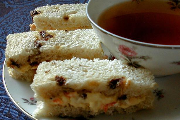 "Carrot ""Cake"" Tea Sandwiches. Photo by ms_bold"