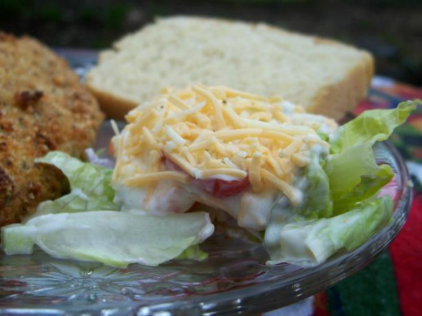 7 Layer Salad. Photo by Marsha D.