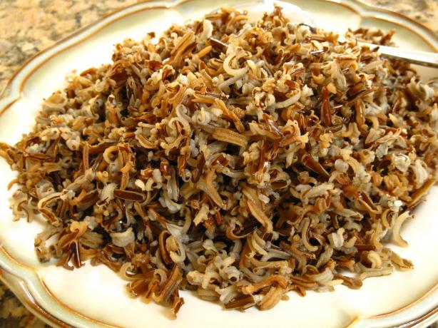 Oven Wild Rice. Photo by WiGal