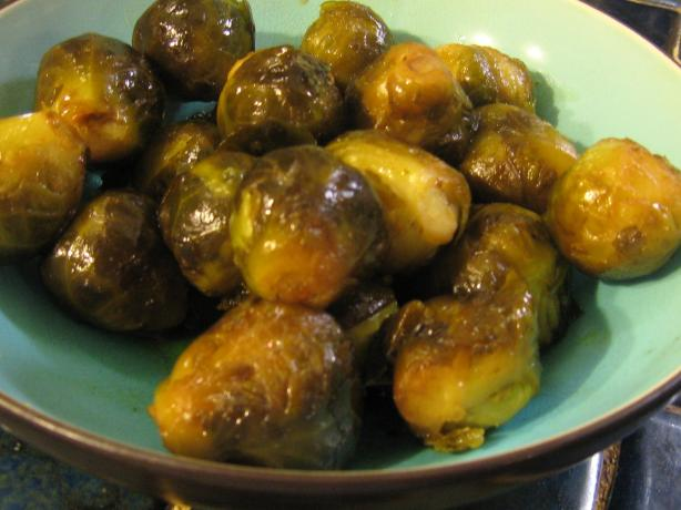 Caramelized Brussels Sprouts. Photo by breezermom