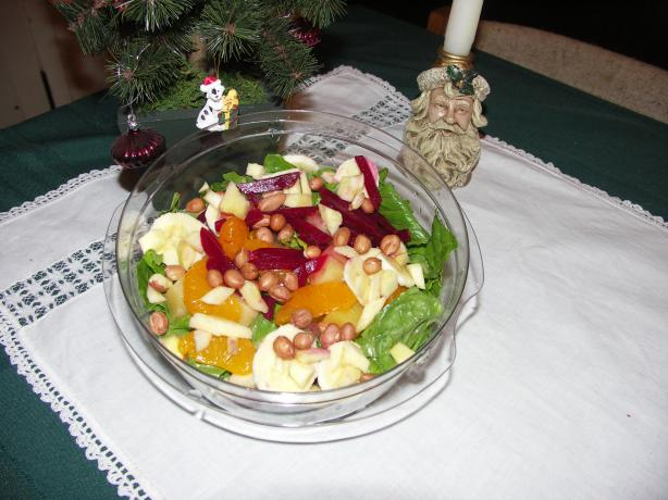 Ensalada De Noche Buena (Christmas Eve Salad). Photo by Mulligan