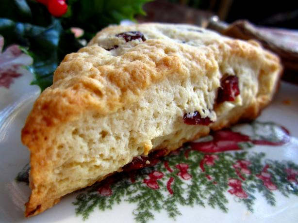 Cranberry and White Chocolate Scones. Photo by gailanng