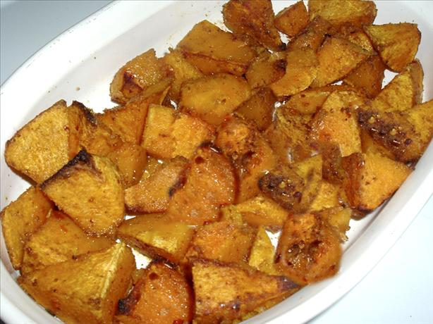 Spice Roasted Butternut Squash. Photo by Bergy