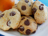 Fluffy Chocolate Orange Cookies