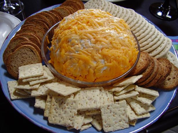 Amy's Beer & Ranch Cheese Ball. Photo by NoraMarie