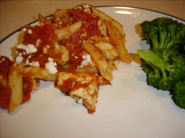 Greek Style Penne Casserole. Photo by Bec