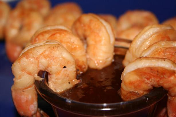 Thai Shrimp Kabobs With Hot Ginger Sauce. Photo by ~Nimz~