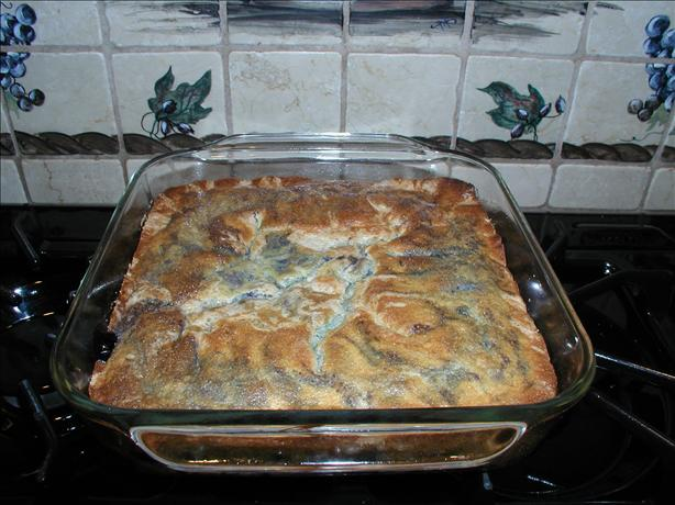 Gluten-Free Blueberry Buckle. Photo by elainegl