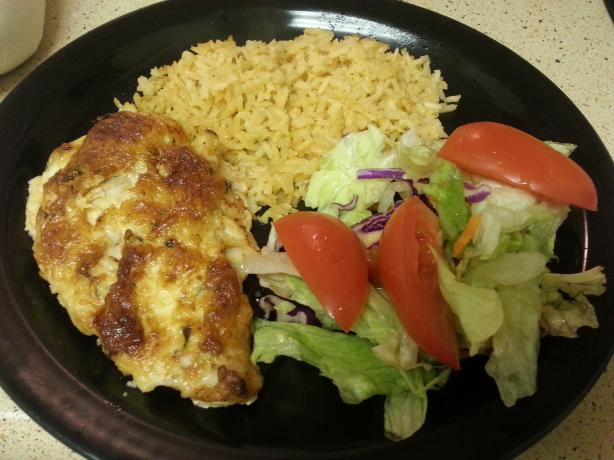 Hellmann's Parmesan Crusted Chicken (Low-fat Version). Photo by Mina Cepeda