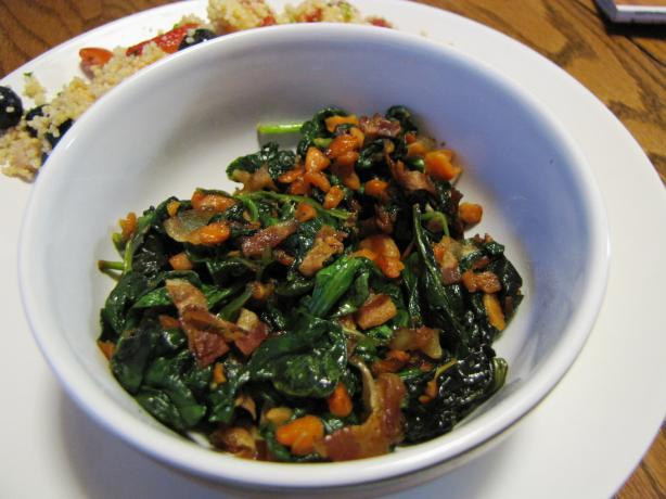 Vegetable Bacon Saute. Photo by loof