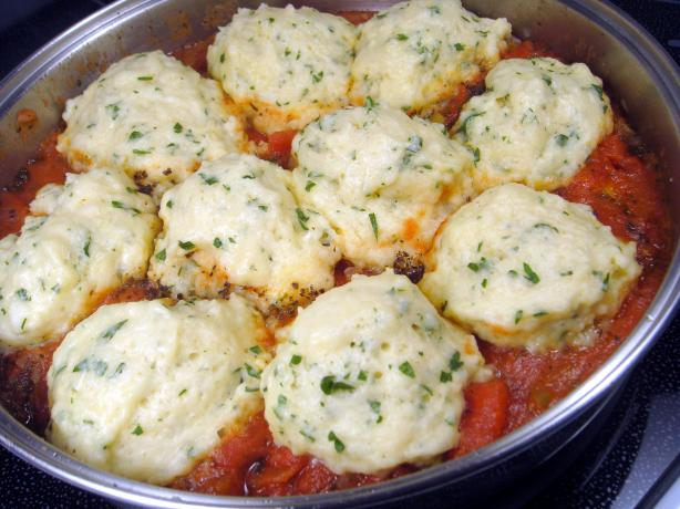 Stewed Tomatoes and Dumplings. Photo by Lori Mama