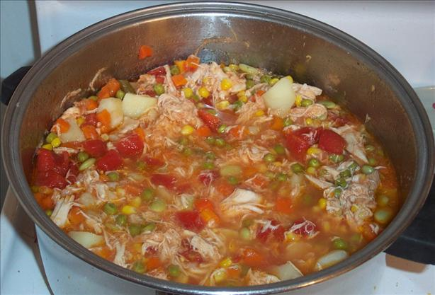 Chicken Vegetable Soup. Photo by GrandmaIsCooking