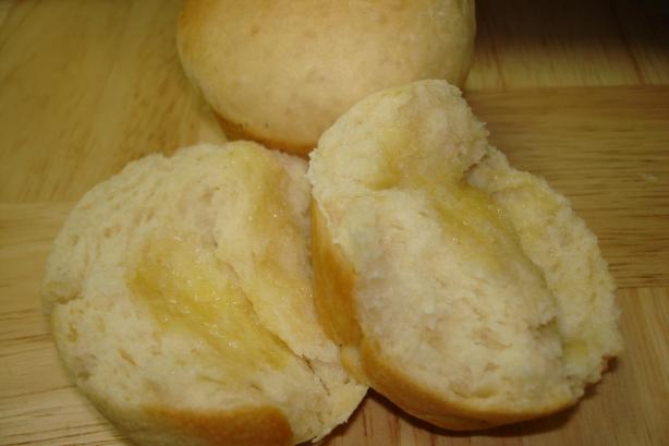 Sweet, Buttery Rolls  (Bread Machine Recipe). Photo by Pinot Grigio