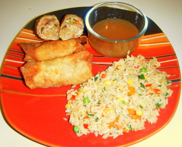 Easy Chicken Egg Rolls. Photo by carriemack