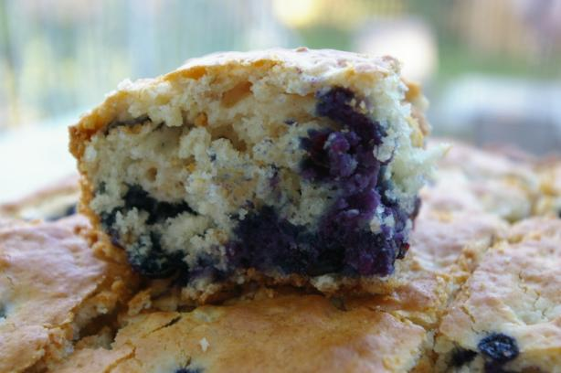Blueberry Oatmeal Breakfast Cake. Photo by Redsie