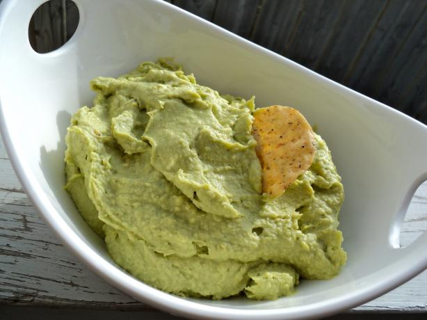 Green Avocado Hummus. Photo by Nif