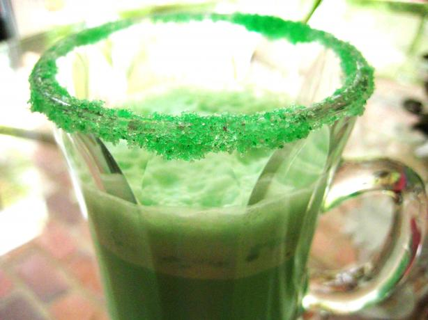 Copycat Mcdonald's Shamrock Shake. Photo by gailanng