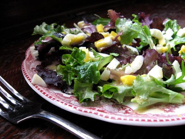 Baby Greens with Mustard Vinaigrette. Photo by ms_bold