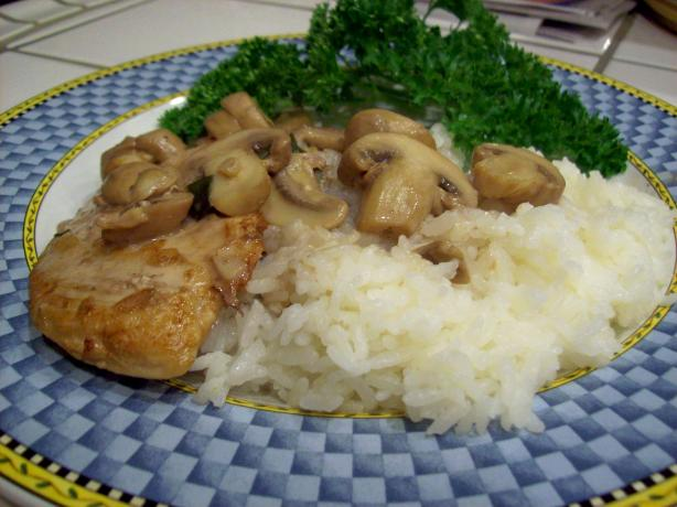 Creamy Chicken Marsala. Photo by Chef TraceyMae